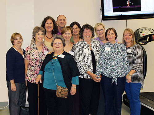 The Department of Physical Therapy class of 1984 used Homecoming 2014 as an opportunity to meet up for a reunion with their classmates and former instructors.